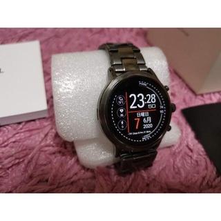 フォッシル(FOSSIL)のFossil gen5 THE CARLYLE HR FTW4024 美品かも(腕時計(デジタル))