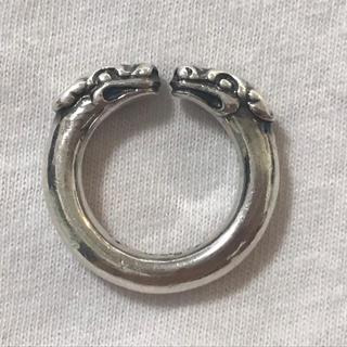 クロムハーツ(Chrome Hearts)の本物 クロムハーツ ダブルドッグリング 9号(リング(指輪))