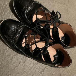 ロキエ(Lochie)のレースアップシューズ メダリオンシューズ(ローファー/革靴)