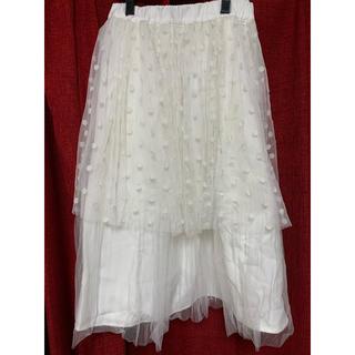 メリージェニー(merry jenny)のメリージェニー チュールスカート(ひざ丈スカート)