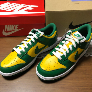 ナイキ(NIKE)のNIKE DUNK LOW SP BRASIL 28cm(スニーカー)