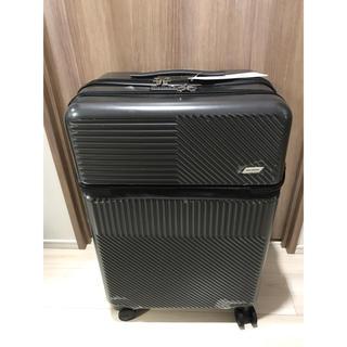 エーエヌエー(ゼンニッポンクウユ)(ANA(全日本空輸))のANA DESIGNスーツケース 60L取り出しポケット付き(トラベルバッグ/スーツケース)