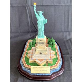 ★絶版! ★ダンバリーミント ★ニューヨーク ★自由の女神像 ★ジオラマ模型(置物)
