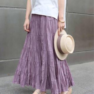 スピックアンドスパンノーブル(Spick and Span Noble)のMARIHA 草原の虹のスカート(ロングスカート)