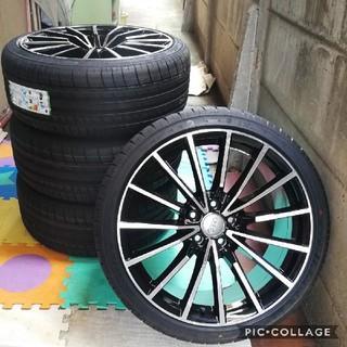 アウディ(AUDI)の新品 タイヤホイール4本セット アウディ A4 8K 5246 19インチタイヤ(タイヤ・ホイールセット)