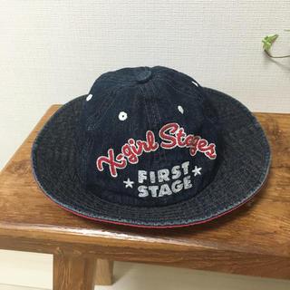 エックスガールステージス(X-girl Stages)のX-girl stages ベビー帽子 ハット(帽子)