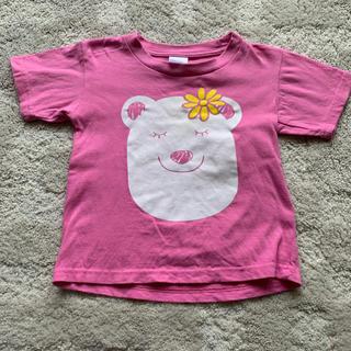 ピンク Tシャツ 白くま 110(Tシャツ/カットソー)