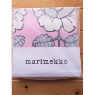 マリメッコ(marimekko)のmarimekko ベッドカバー 花柄 ピンク マリメッコ 寝具 布団(シーツ/カバー)