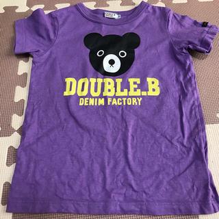 ダブルビー(DOUBLE.B)のダブルB  120  半袖Tシャツ(Tシャツ/カットソー)