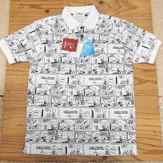 ピーナッツ(PEANUTS)の新品タグ付き 訳あり 白 スヌーピー ビッグポロシャツ 4Lサイズ(ポロシャツ)
