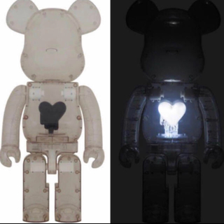 メディコムトイ(MEDICOM TOY)のEMOTIONALLY UNAVAILABLE Black Heart 1000(その他)