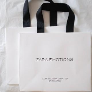 ザラ(ZARA)のZARA×ジョーマローン ショッパー 2枚(ショップ袋)