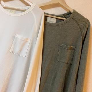 アングリッド(Ungrid)のUngrid ワイドワッフルロングスリーブTee(Tシャツ(長袖/七分))