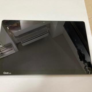 エルジーエレクトロニクス(LG Electronics)のジャンク扱い SIMフリー au Qua Tab PZ ネイビー LGT32(タブレット)