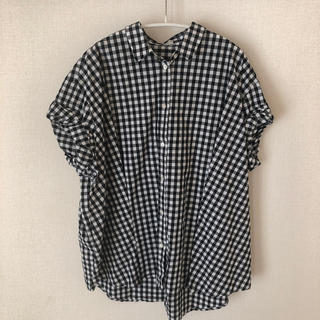 ドアーズ(DOORS / URBAN RESEARCH)のURBAN RESEARCH DOORSワイドタックシャツ(ranran様専用)(シャツ/ブラウス(半袖/袖なし))