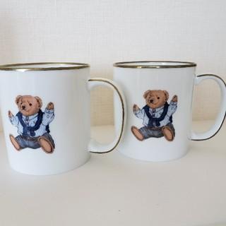 ラルフローレン(Ralph Lauren)のラルフローレン ポロベアーマグカップ ペアー(グラス/カップ)