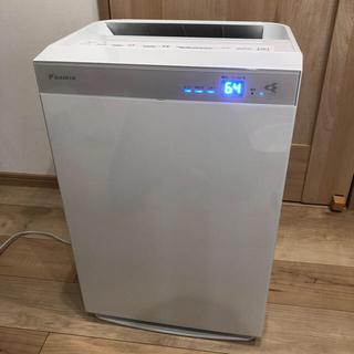 ダイキン(DAIKIN)のダイキン 加湿ストリーマ空気清浄機 MCK70UE5-W(加湿器/除湿機)