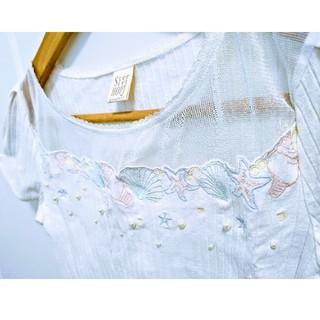 シークレットハニー(Secret Honey)のシェルモチーフカットソー(カットソー(半袖/袖なし))