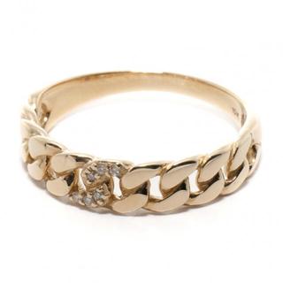 アヴァランチ(AVALANCHE)のアヴァランチ ダイヤモンド 10K イエローゴールド リング(リング(指輪))