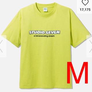 ジーユー(GU)のGU × STUDIO SEVEN コラボ ビッグT(ロゴ)(Tシャツ/カットソー(半袖/袖なし))