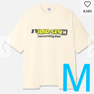 ジーユー(GU)のGU × STUDIO SEVEN コラボ 切り替えビッグT(Tシャツ/カットソー(半袖/袖なし))