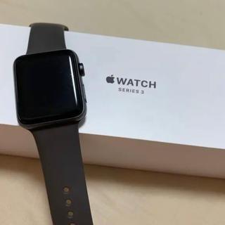 アップルウォッチ(Apple Watch)のApple Watch series3 42mm 即日発送(腕時計(デジタル))