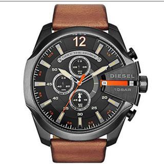 ディーゼル(DIESEL)のDIESEL 腕時計 DZ4343 メンズ ブラック×ブラウン(腕時計(デジタル))