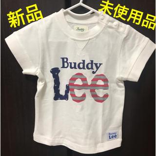 バディーリー(Buddy Lee)のベビー服 男の子 80 Buddy Lee Tシャツ 白柄(Tシャツ)