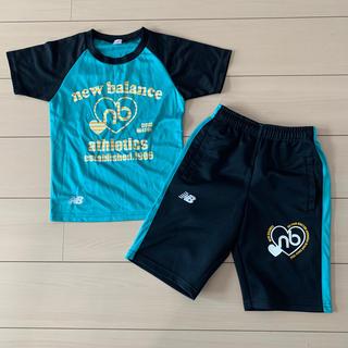 ニューバランス(New Balance)のニューバランス セット 120 130 Tシャツ ハーフパンツ 運動(Tシャツ/カットソー)