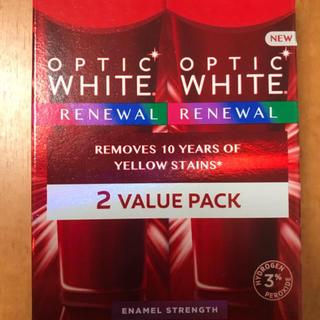 コルゲート Colgate オプティックホワイト ホワイトニング  2本セット(歯磨き粉)