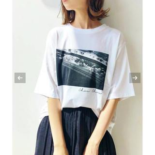 イエナ(IENA)のIENA🇫🇷 Paris photo Tシャツ 商品説明お読み下さい(Tシャツ/カットソー(半袖/袖なし))