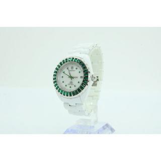 【W-416】インハビタント × アライブアスレティックス コラボ 腕時計 白