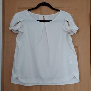 ドレスキップ(DRESKIP)の夏物 トップス パフスリーブ  シャツ(Tシャツ(半袖/袖なし))