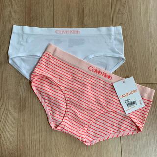カルバンクライン(Calvin Klein)の【新品タグ付】2枚組 カルバンクライン ショーツ キッズ (下着)