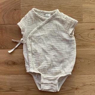エイチアンドエム(H&M)のオーガニックコットン 肌着 70cm(肌着/下着)