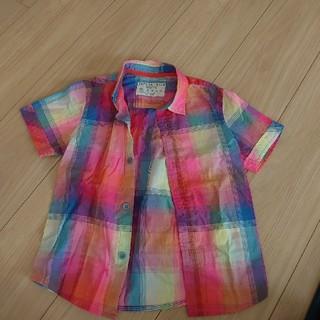 ザラ(ZARA)のザラチェックシャツ100(ブラウス)
