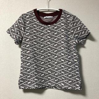 ザラ(ZARA)の【今日明日限定】ZARA Tシャツ 薄手ニット(Tシャツ(半袖/袖なし))