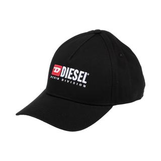 ディーゼル(DIESEL)のDIESEL 刺繍ロゴCAP ブラック キャップ(キャップ)