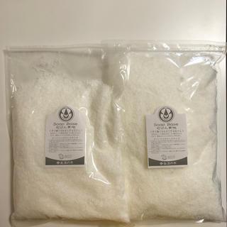 セイカツノキ(生活の木)の生活の木 HG純植物性石けん素地(1kg) ✖️2袋(ボディソープ/石鹸)