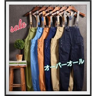 【sale】メンズ レディース オーバーオール オシャレ【男女兼用】【193】(その他)