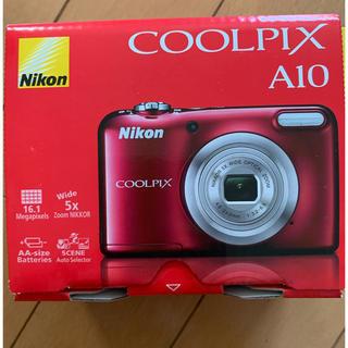 ニコン(Nikon)のNikon COOLPIX Affinity COOLPIX A10 RED(コンパクトデジタルカメラ)