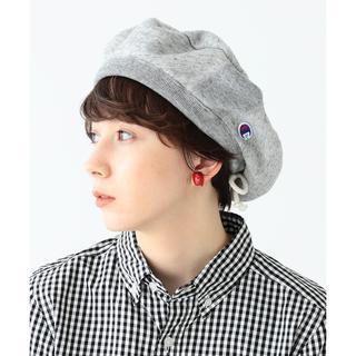 ビームスボーイ(BEAMS BOY)のChampion × BEAMS BOY / 別注 スウェット ベレー帽 新品(ハンチング/ベレー帽)