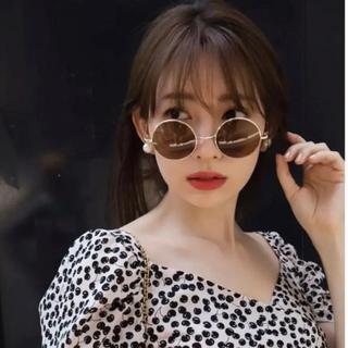 スナイデル(snidel)の【Herlipto】Sun Glasses / ROUND(サングラス/メガネ)