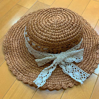 シマムラ(しまむら)の美品♡麦わら帽子(麦わら帽子/ストローハット)
