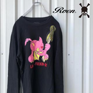 ロエン(Roen)のRoen LA-DE-FUCKIN-DA!! Tシャツ ロンT(Tシャツ/カットソー(七分/長袖))