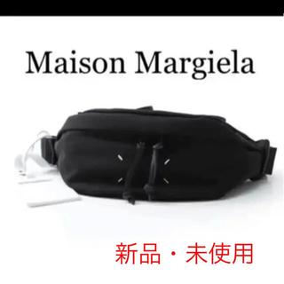 マルタンマルジェラ(Maison Martin Margiela)のメゾンマルジェラ Maison Margiela クロスボディバッグ ブラック(ボディーバッグ)