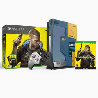 エックスボックス(Xbox)のXbox One X サイバーパンク2077 リミテッド エディション (家庭用ゲーム機本体)
