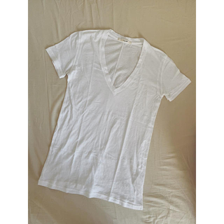 サニーレーベル(Sonny Label)のアーバンリサーチ サニーレーベル 白T 無地T シアーTシャツ Vネック(Tシャツ(半袖/袖なし))