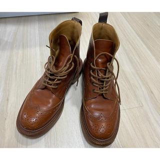 トリッカーズ(Trickers)のTricker's country wing tip boots(ブーツ)
