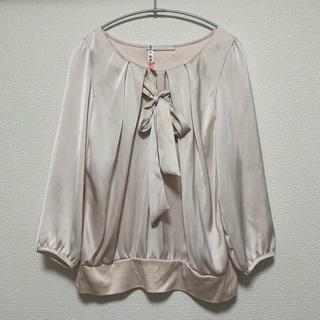 ノーリーズ(NOLLEY'S)のピンク色 スーツ用ブラウス(シャツ/ブラウス(長袖/七分))